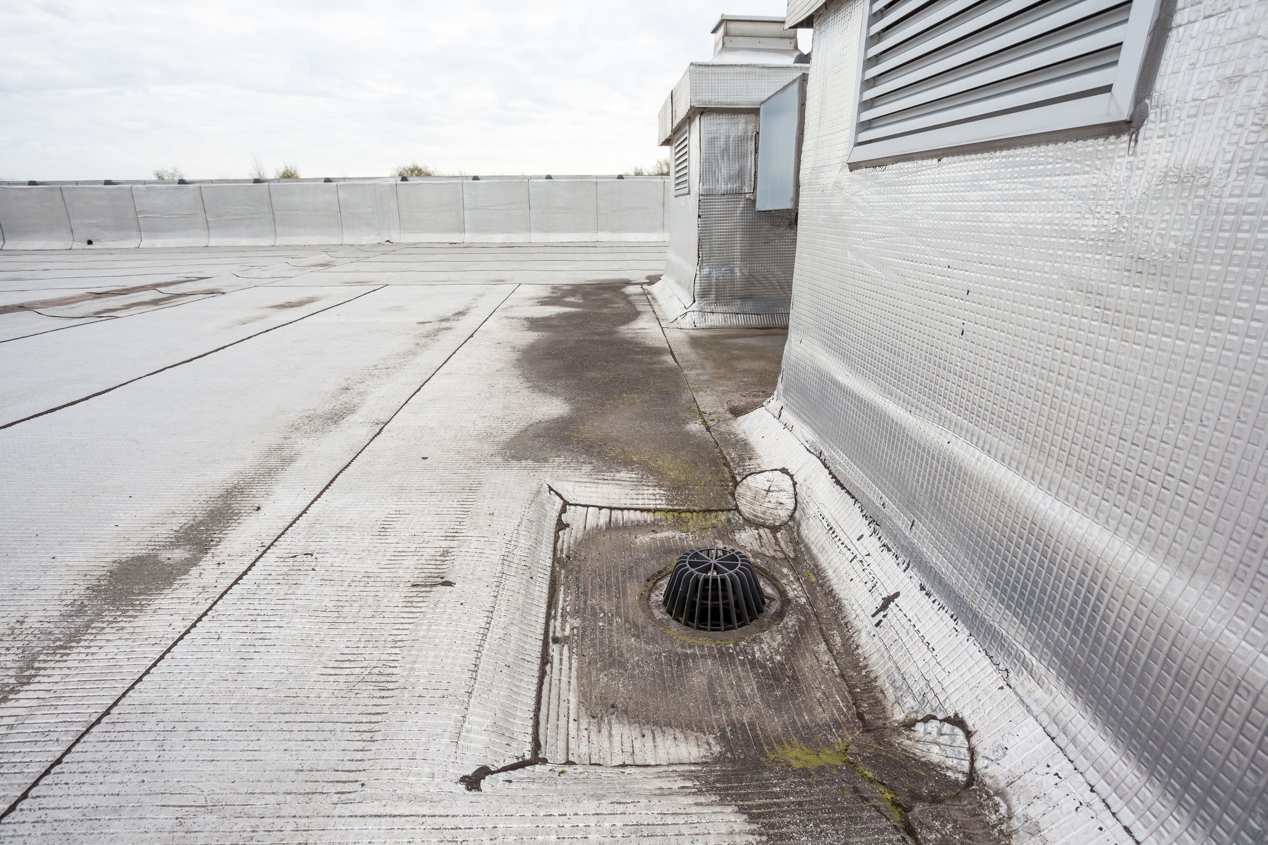 A Post COVID-19 Shutdown Commercial Roof Inspection